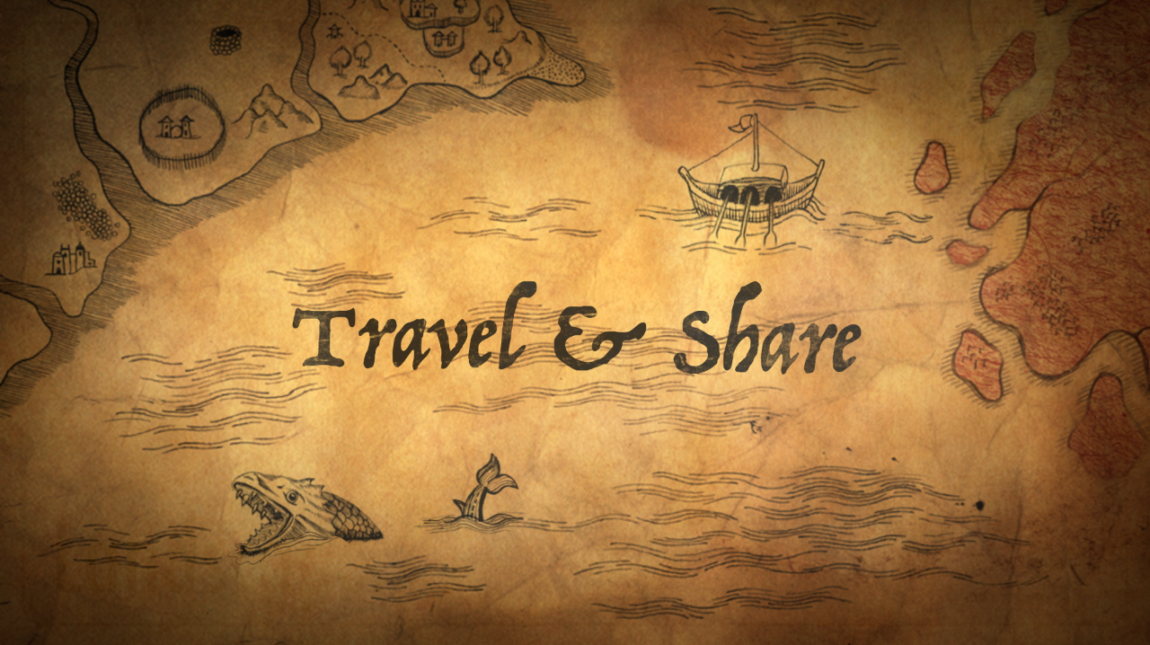 Travel & share the gospel